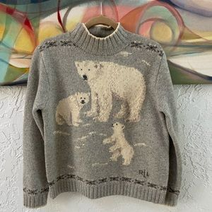 Ralph Lauren Vintage Hand Knit Sweater